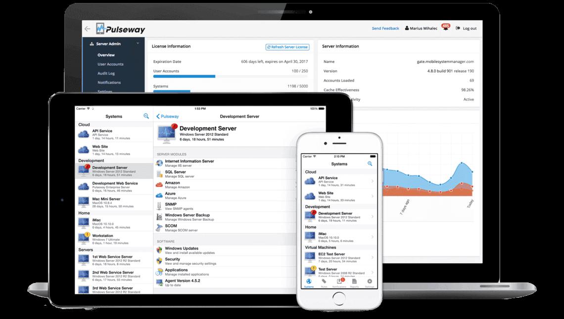 Mobile System Manager für Netzwerkadministratoren