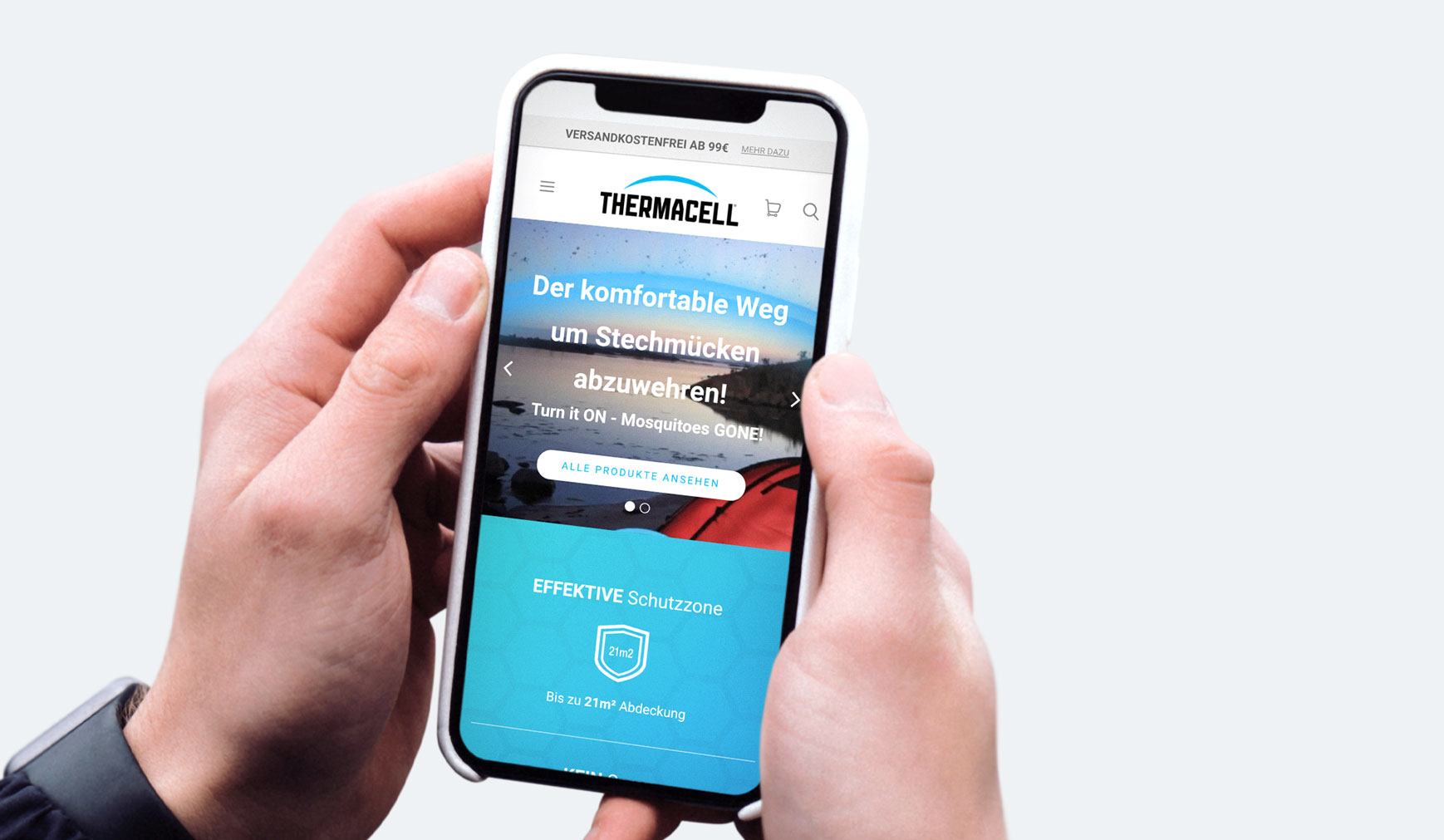 Cloudcompany Online Shop ThermaCell