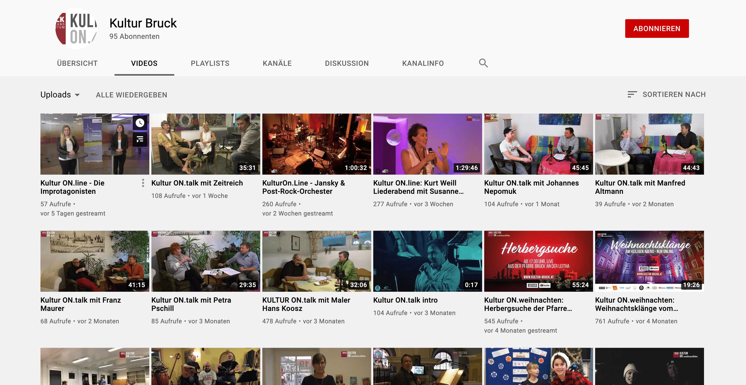 KulturOnline-Youtube
